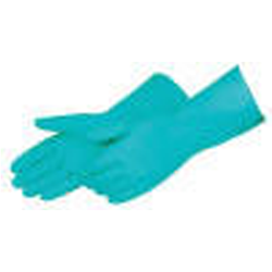 Gloves: Nitrile Heavy Duty, 15-mil