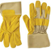 Gloves: Ylw Canvas,LtherPalm-L - PSG820-L